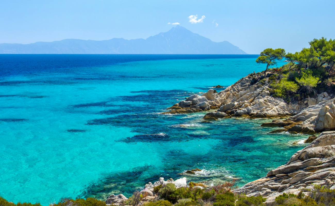 best beaches of sythonia